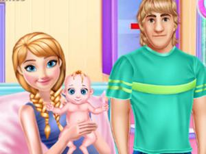 play Pregnant Anna And Baby Care