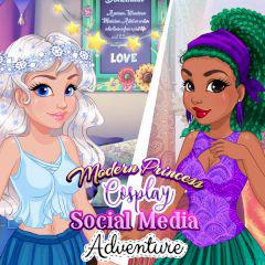 play Modern Princess Cosplay Social Media Adventure