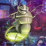 Glow Worm Escape game