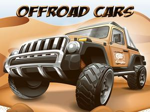 play Offroad Cars Jigsaw