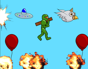 play Reckless Rocket Ranger: Reloaded