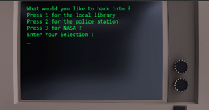 play Terminal Hacker Game (Word Guessing Game)