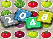 2048 Fruits game