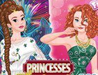 Princesses Fashion Wars: Boho Vs Gowns game