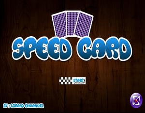 play Speed Card