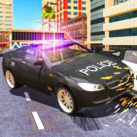 Police Car Stunt Simulator game
