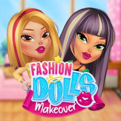 Fashion Dolls Makeover game