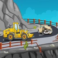 Mountain-Slope-Car-Escape game