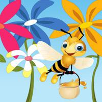 Hidden-Honey-Bee game