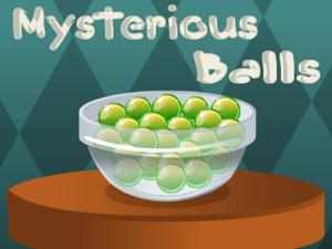 Mysterious Balls game