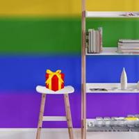 Colorful Rainbow House Escape game