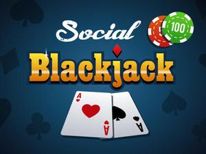 Social Blackjack game