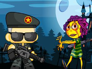 play Zombie Shooter 2D