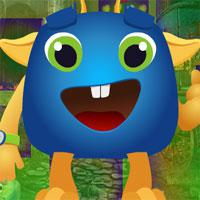 play Games4King-Cartoon-Creature-Escape