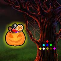 play Halloween Candy Forest Escape
