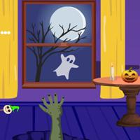play G4E Purple Halloween Room Escape