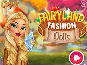 play Fairyland Fashion Dolls
