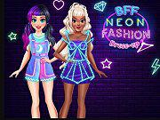 play Bff Neon Fashion Dress Up