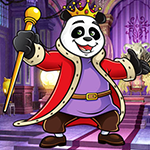 Panda King Escape game
