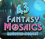Fantasy Mosaics 43: Haunted Forest game