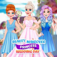 play Beauty Makeover Princess Wedding Day