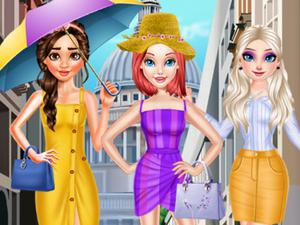 Princess Summer Fashion game