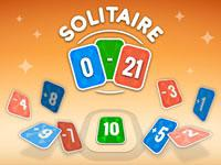 play Solitaire Zero 21