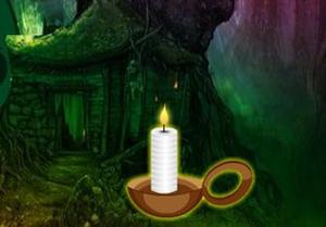 play Cursed Candle Forest Escape