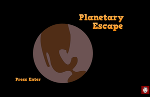 Planetary Escape game