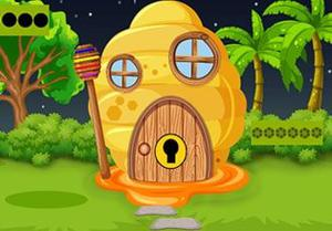 play Beehive House Escape