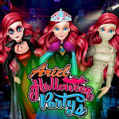 Ariel Halloween Party game