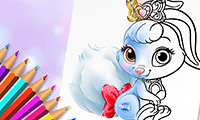 Cute Animals Coloring Book game