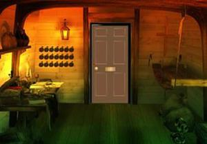 Halloween Curse Witch House Escape game
