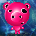 Alien Pig Escape game