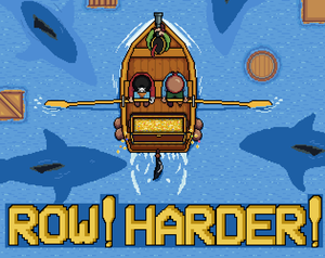Row! Harder! game