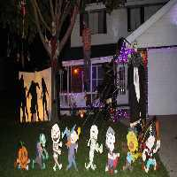 play Fun Cheap Haunted Halloween House