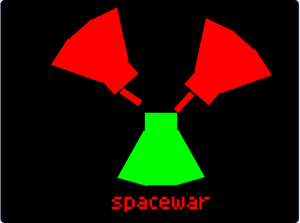 Spacewar game
