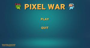 Pixelwar game
