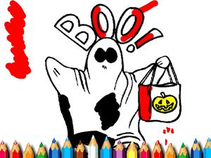 play Halloween Coloring Book