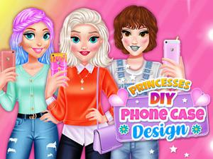 » Princesses Diy Phone Case Design game