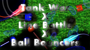 play Tank War X Line Battle X Ball Bouncers