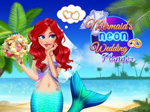 Mermaid'S Neon Wedding Planner game