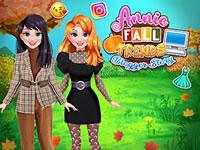 play Annie Fall Trends Blogger Story