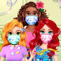 Diy Princesses Face Mask game