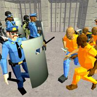 Battle Simulator: Prison & Police game