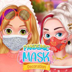 Pandemic Mask Decoration | Fashion Games | Online Games @ Gamezhero.Com game