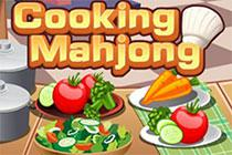 Cooking Mahjong game