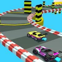 Race Car Steeplechase game