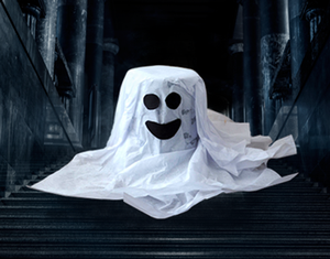 Find-The-Ghost-Costume game