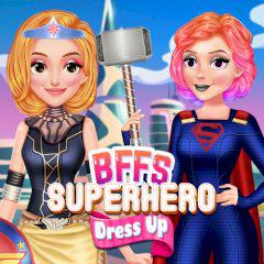 play Bffs Superhero Dress Up